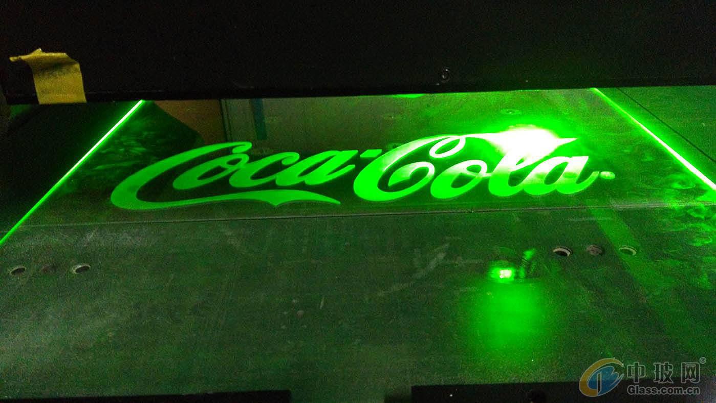 品牌裝飾導光玻璃
