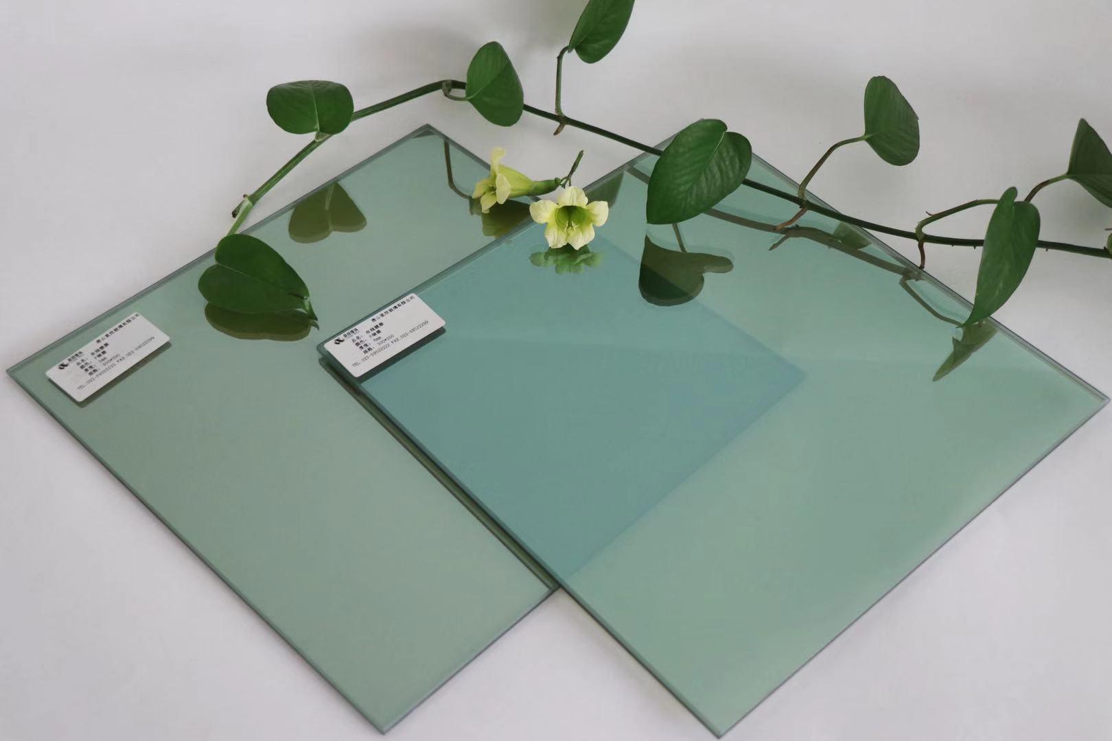 供应5mm镀膜F绿玻璃