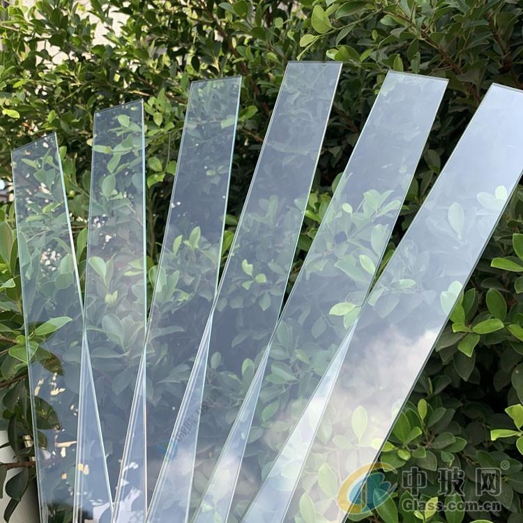 自然光线透过率87%超白玻璃 超白低铁浮法玻璃