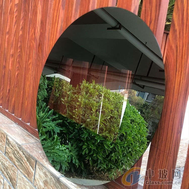 镜面玻璃清新美感镜面玻璃 不同角度展现不一样的镜面视觉效果