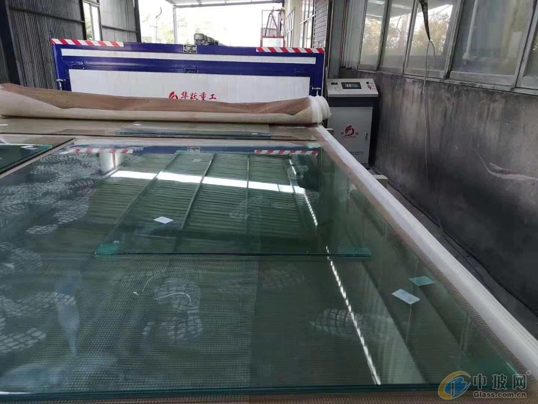 玻璃夾膠爐原理 夾膠線