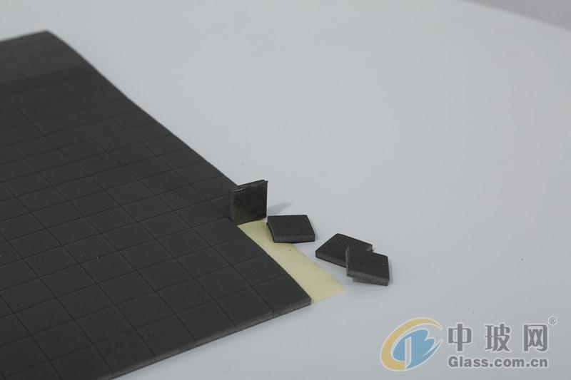 EVA墊廠家直銷現貨銷售玻璃EVA墊黑橡膠墊減震墊防滑墊