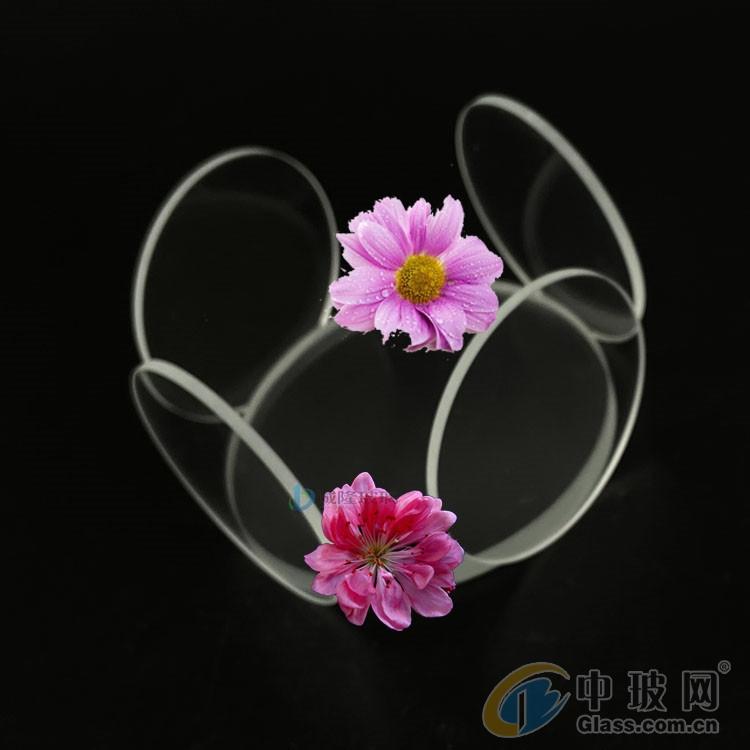 纯净通透超白玻璃 3mm低铁耐钙超白钢化玻璃