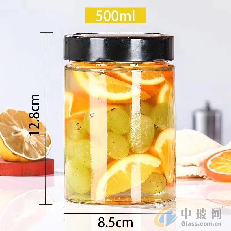 徐州大地棋牌游戲開獎瓶罐頭瓶醬菜瓶高蓋密封蜂蜜瓶