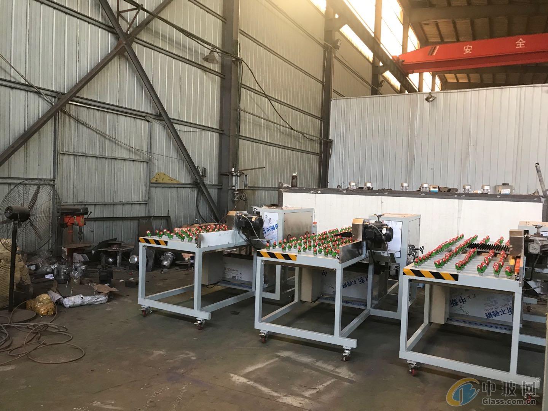 供应玻璃磨边机厂家报价   山东华跃