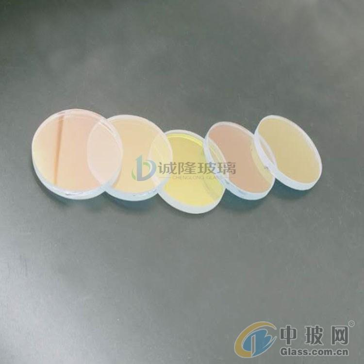 厂家直销炫彩镀膜玻璃 七彩变色钢化玻璃
