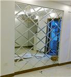 高档拼镜玻璃背景墙 定制批发