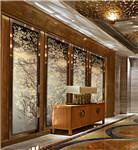 沙发/客厅/会所背景墙玻璃