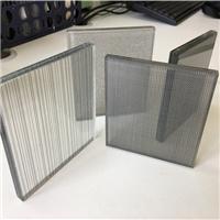 北京夾絲玻璃生產