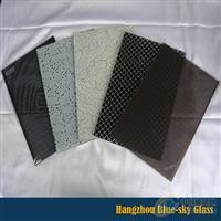 鋼化絲印玻璃鋼化彩釉玻璃