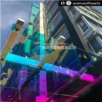 幻彩玻璃 炫彩玻璃 同民玻璃供应