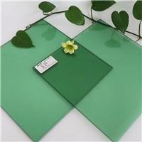 供應6mm浮法自然綠玻璃