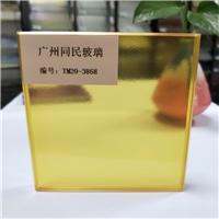 同民供應彩色夾膠玻璃鋼化玻璃