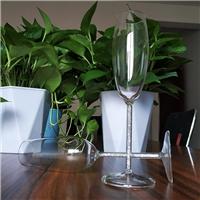 水钻杯柱高脚杯透明杯身香槟杯可批发定制