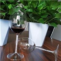 经典款高脚杯红葡萄酒杯透明玻璃杯底座平稳