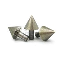 东莞订制金刚石倒角扩孔工具 60度锥形SDC磨头 直径30毫米