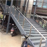 304不锈钢立柱玻璃配件五金商场立柱栏杆扶手阳台玻璃扶手