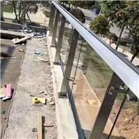 304定制立柱玻璃夹配件阳台栏杆医院走廊扶手