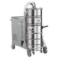 水晶制品車間吸地面灰塵用大吸力工業吸塵器WX100/75