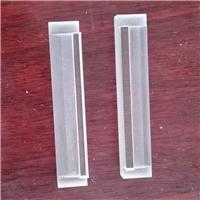 厂家直销COG石英条T型热压贴合石英玻璃条