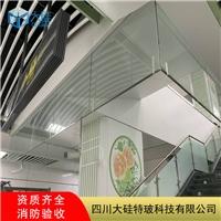 固定式挡烟垂壁刚性防火玻璃价格