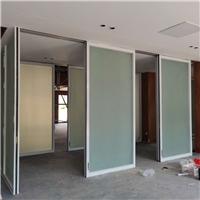 深圳办公吊折隔断伸缩门隔墙定做测量安装