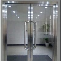 北京市乙级水晶硅1小时隔热钢质防火玻璃门厂家