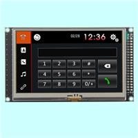 4.3寸、5寸、7寸800*480分辨率MCU接口TFT液晶模塊