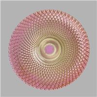孔雀彩色装饰盘