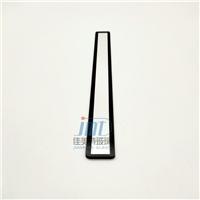 小尺寸長條玻璃 長條鋼化絲印玻璃  鋼化玻璃面板定制