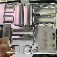 彩色热熔玻璃 热熔钢化玻璃  屏风隔断玄关玻璃定制加工 格美特