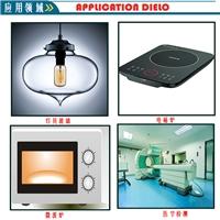 厂家供应定制微晶耐高温玻璃 电磁炉微晶黑玻璃面板 壁炉透明耐高温玻璃