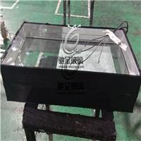 佛山電加熱玻璃廠家供應冷柜電加熱除霧除霜玻璃