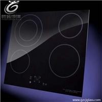 微晶玻璃厂家供应电磁炉微晶黑玻璃面板 壁炉透明耐高温玻璃 批发价格