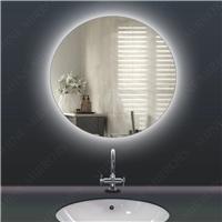 美式简约led镜圆形