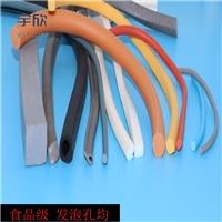 定制生產硅膠密封條 發泡硅膠密封條 減震硅膠密封條價格