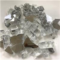 火爐玻璃鋼化玻璃 壁爐火爐耐高溫玻璃塊 碎玻璃