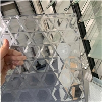 供應車花玻璃 車刻玻璃 電腦刻花玻璃 凹槽型玻璃