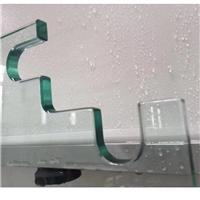 廠家定制鋼化玻璃挖缺開孔可根據圖紙定制淋浴房玻璃6-10mm
