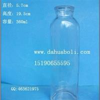 360ml飲料瓶 果醋瓶 冷泡茶玻璃瓶