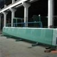 天津地區供應15mm/19mm超大超長超寬超厚平彎鋼化玻璃超白3小時防火平彎鋼化玻璃