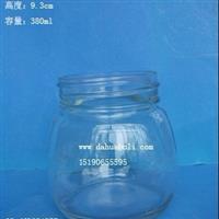 380ml蜂蜜玻璃瓶 醬菜瓶 黃桃罐頭瓶