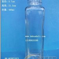 440ml飲料瓶果汁瓶果醋瓶果茶玻璃瓶