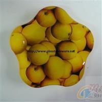 供應鋼化玻璃異形盤/優質玻璃盤