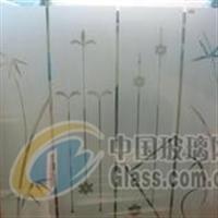 喷砂玻璃/工艺玻璃