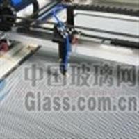 电器玻璃面板激光切膜机