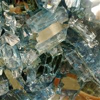 各种颜色的玻璃渣子
