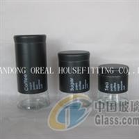 85号大底玻璃罐 黑色玻璃罐