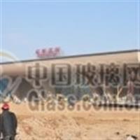石家庄火车站防撞条磨砂玻璃贴膜