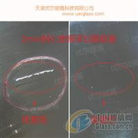 2mm鋼化玻璃深劃痕修復